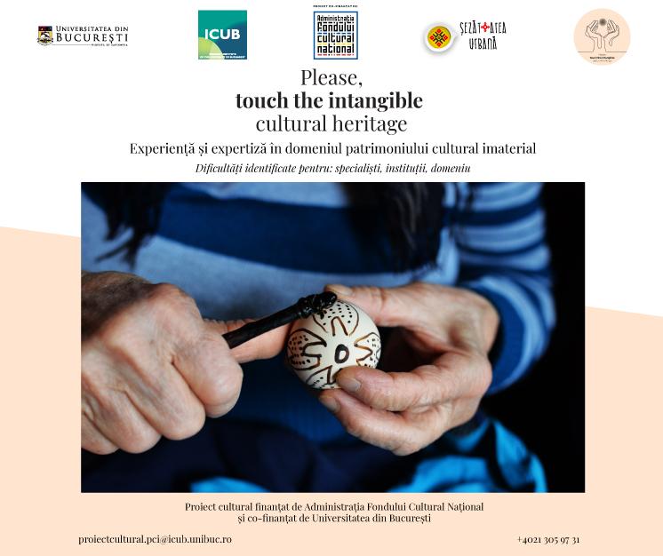 ilustrație știre touch the intangible cultural heritage (ou încondeiat)