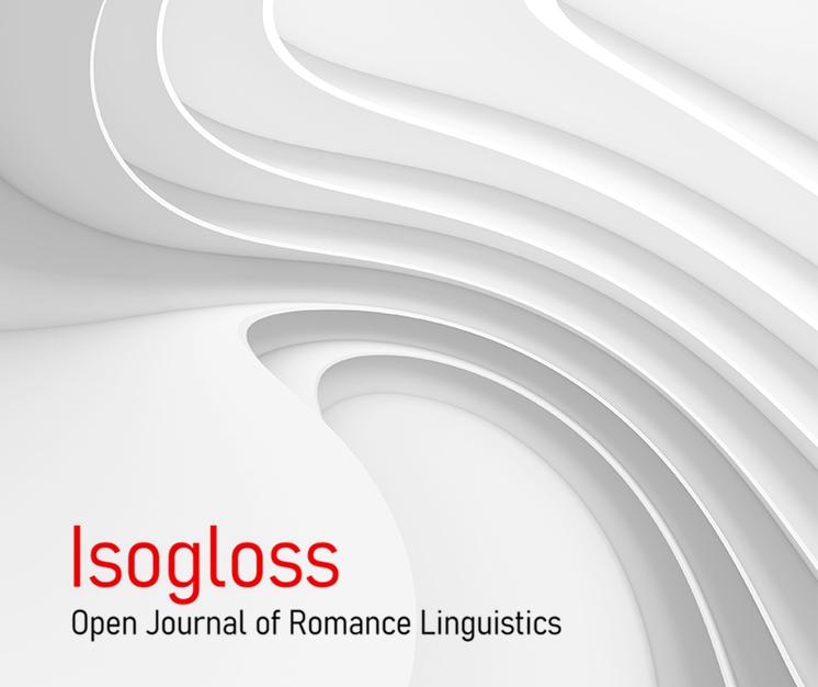 Revista Isogloss