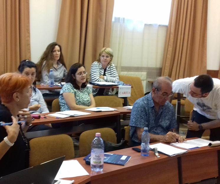 Participanti Scoala de Integritate Carfia