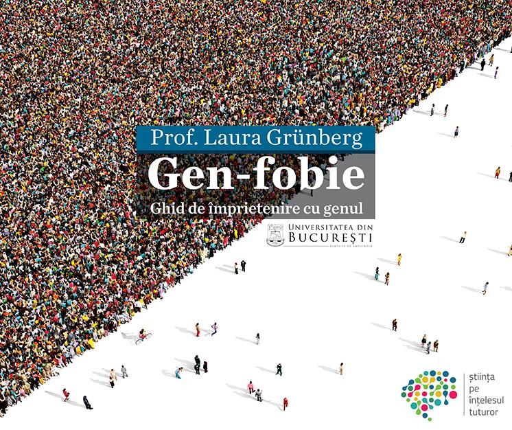 ilustrație conferință gen-fobie, conferințele ub. prof. laura grunberg