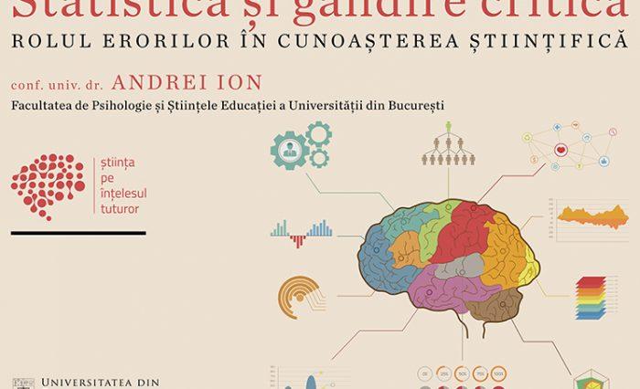afiș conferință Andrei Ion