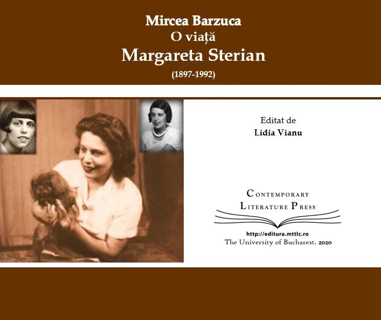 Copertă carte O viață. Margareta Sterian
